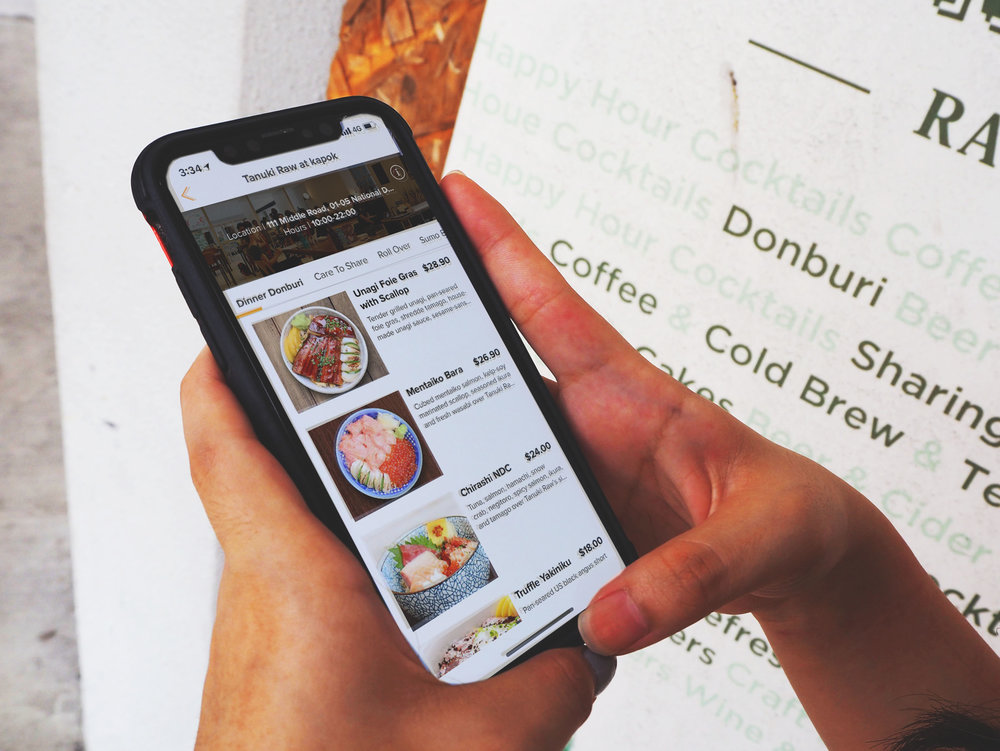 ORDER-AHEAD  Browse menu anytime and place your order!