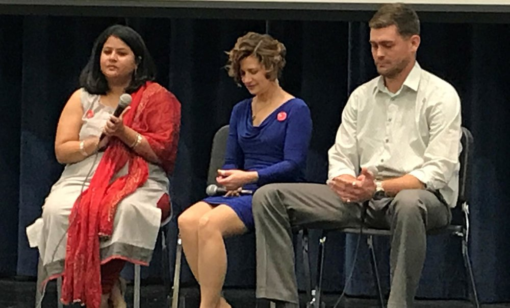New York Times hate crime forum in KC (2017)