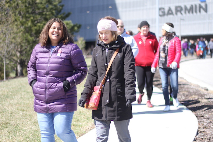 Sunayana and Mindy Walk in 2nd Annual Peace Walk in March 2019