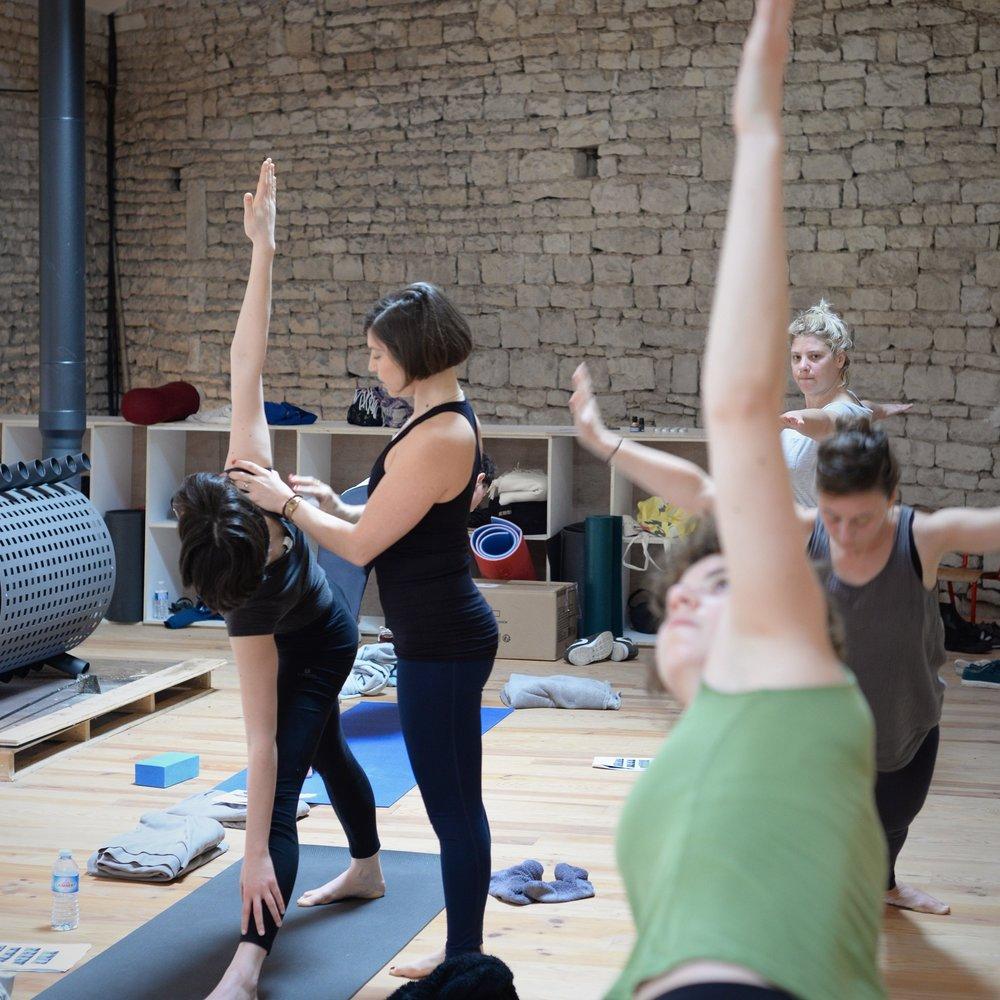 Retraite de Printemps «Le yoga dans son quotidien»  Ven. 13 — Dim. 15 avr. 2018 Dojo du Plessis, Charente 15 personnes  3 jours pour appréhender le Mysore, pratique d'Ashtanga yoga autonome : compréhension de l'enchainement des postures, alignements des postures de base. Pratique de méditation et de pranayama (techniques de respiration).