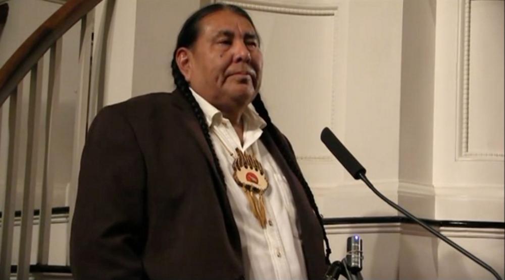 Tom Goldtooth,  Executive Director, Indigenous Environmental Network. Bemidji, MN