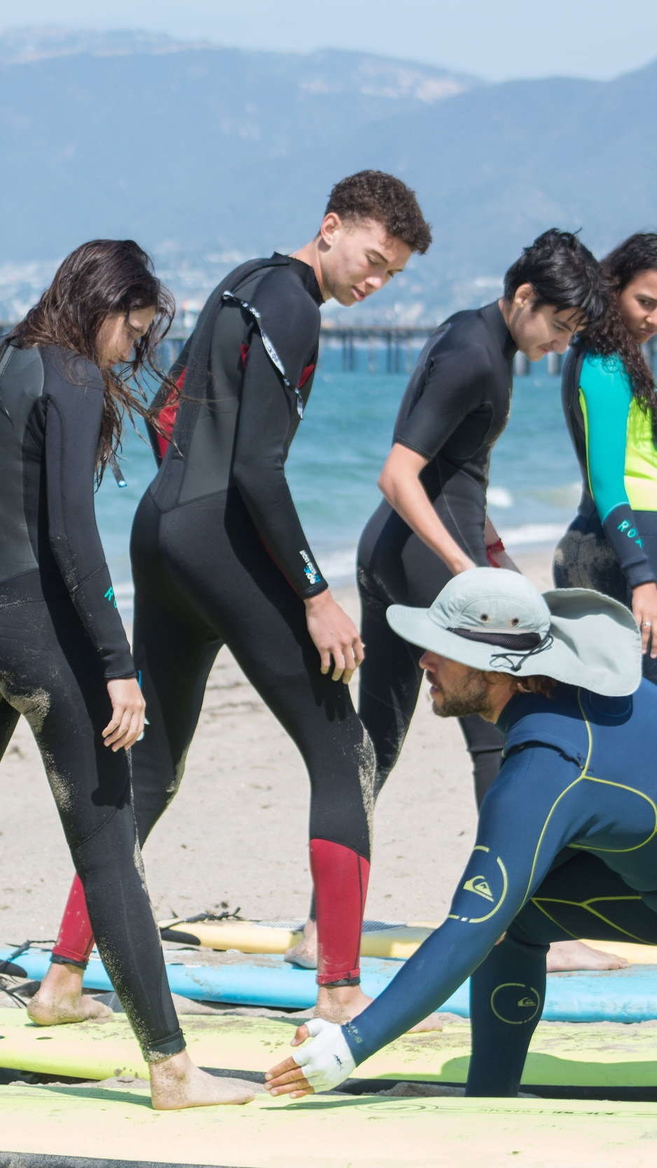 GROUP SURF LESSONS - We will teach you everything you need know to start catching waves.