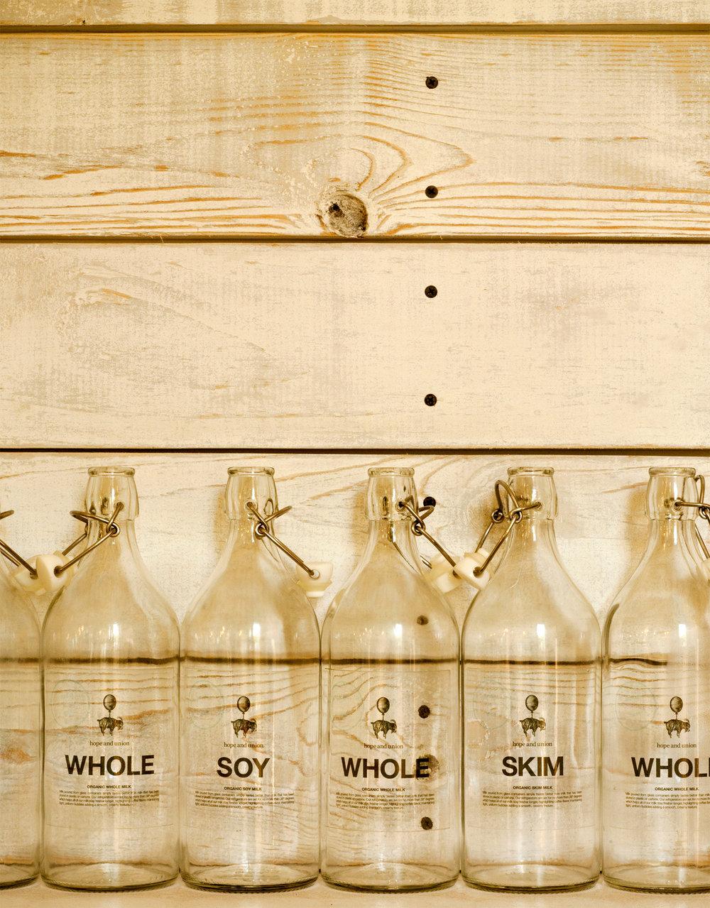 Hope and Union Milk Bottles.jpg