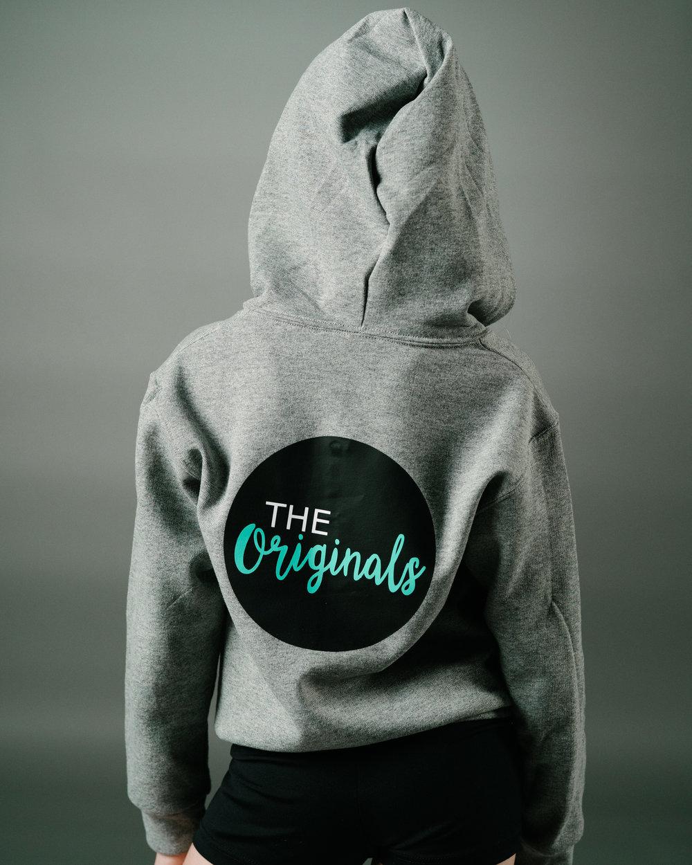 """Zip Up Hoodie """"The Originals"""""""