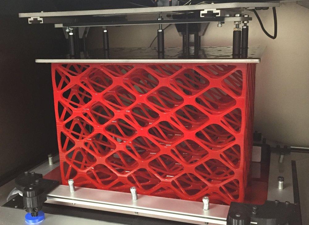 Lab proprietary test printer Wednesday, July 19, 2017