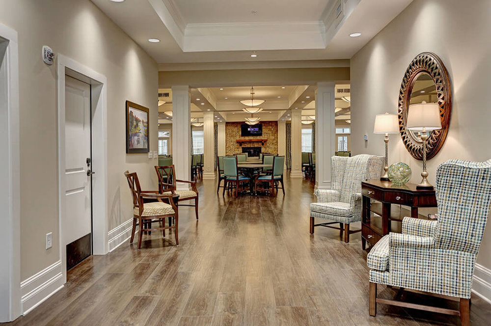 Brickmont Assisted Living at milton Foyer