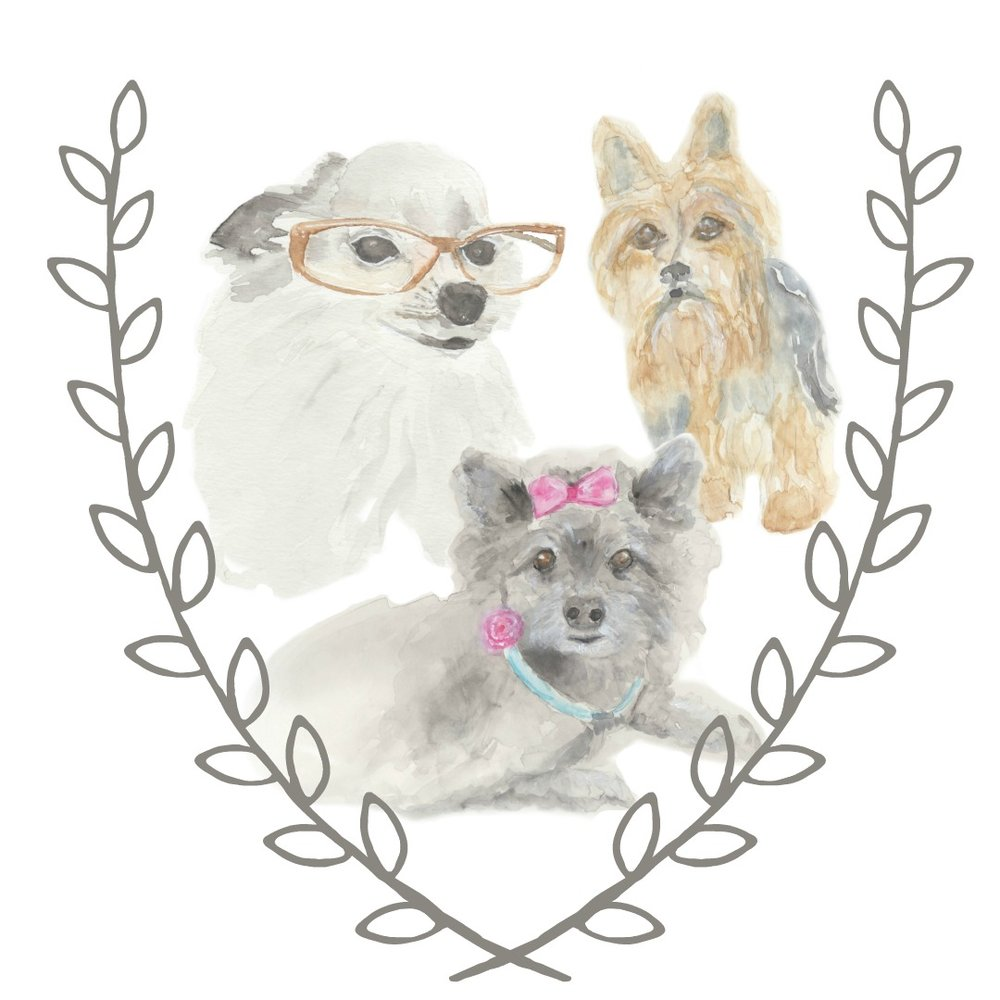 YES! I paint family pets for crest, logo, heraldry