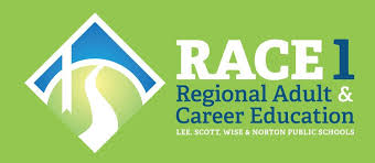 Regional Adult & Career Education (RACE)   Provides basic skills instruction to adult students, 18 and older, living in Lee, Scott, and Wise Counties and the City of Norton   http://myrace1.org/