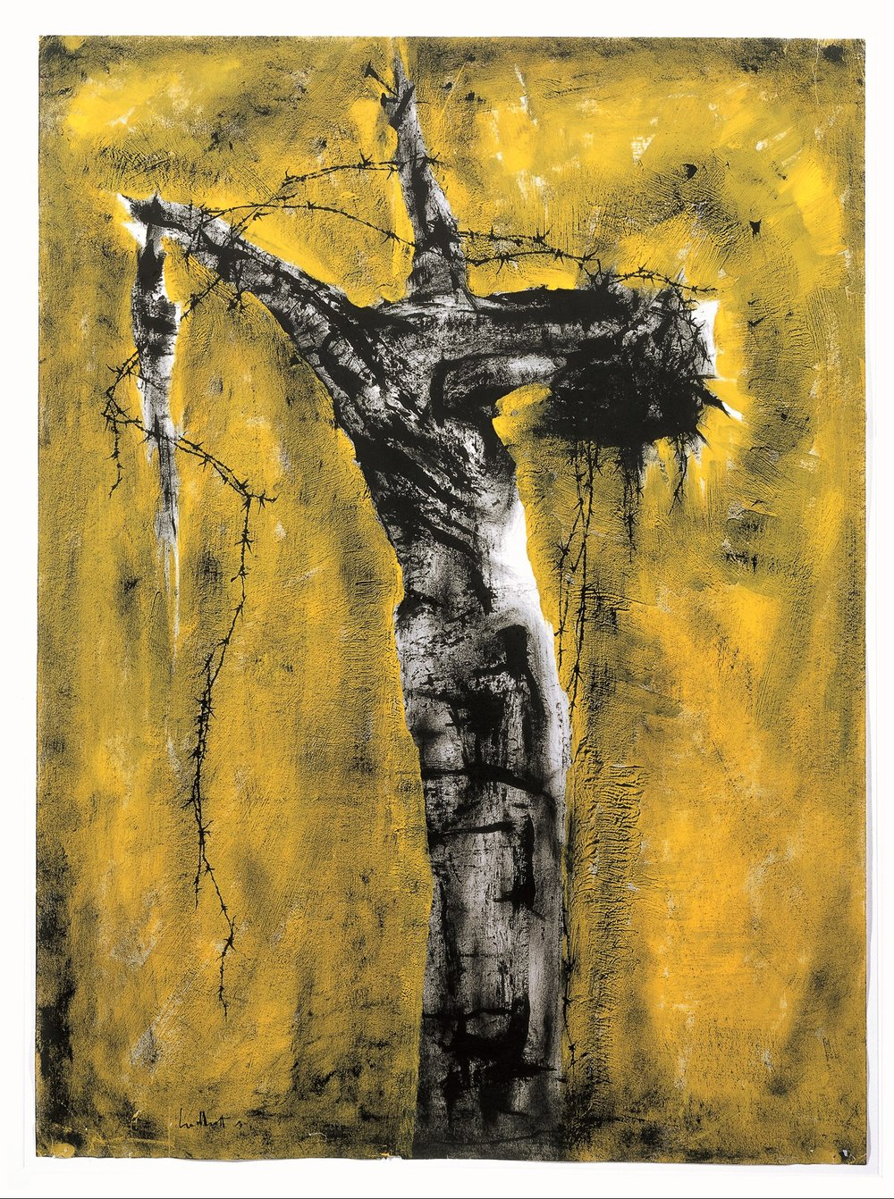 [Image:  Crucified Tree Form , by Theyre Lee-Elliott (1903-1988), 1963. Courtesy of Methodist Modern Art Collection,  http://www.methodist.org.uk/our-faith/reflecting-on-faith/the-methodist-modern-art-collection/index-of-works/crucified-tree-form-the-agony-theyre-lee-elliott/ ]