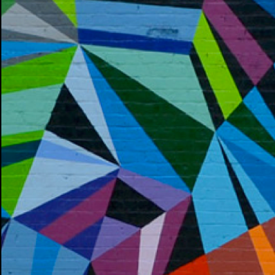 IMAGE CREDIT:  XYZ Axis. Cincinnati, Ohio (2011) , by Matt W. Moore. [ http://mwmgraphics.com/murals_diamonds.html ]