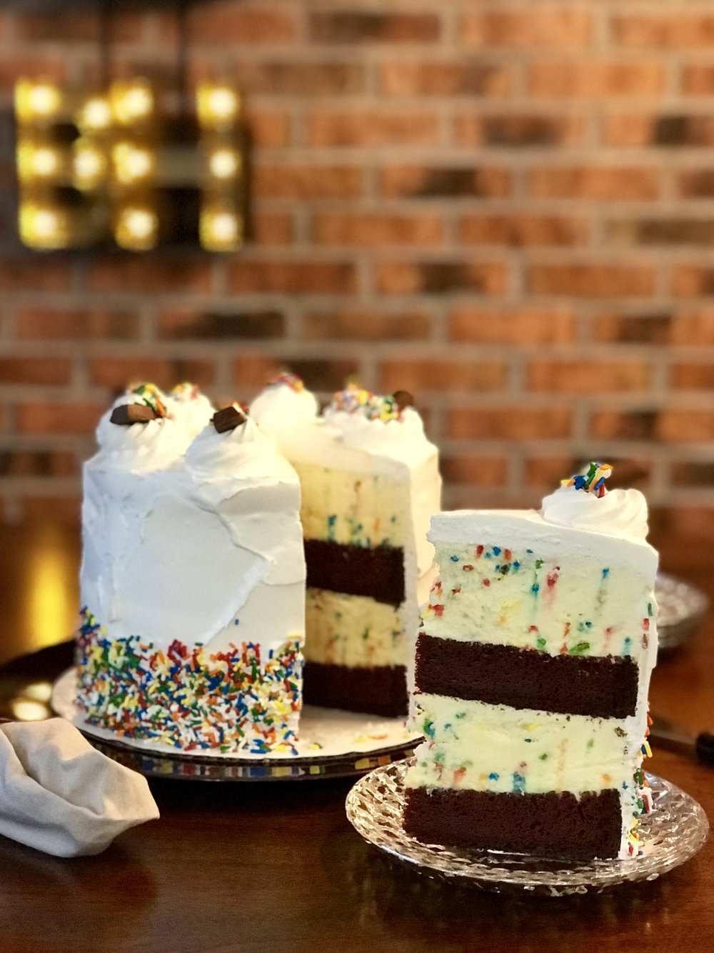 Birthday Ice Cream Cake The Bell House