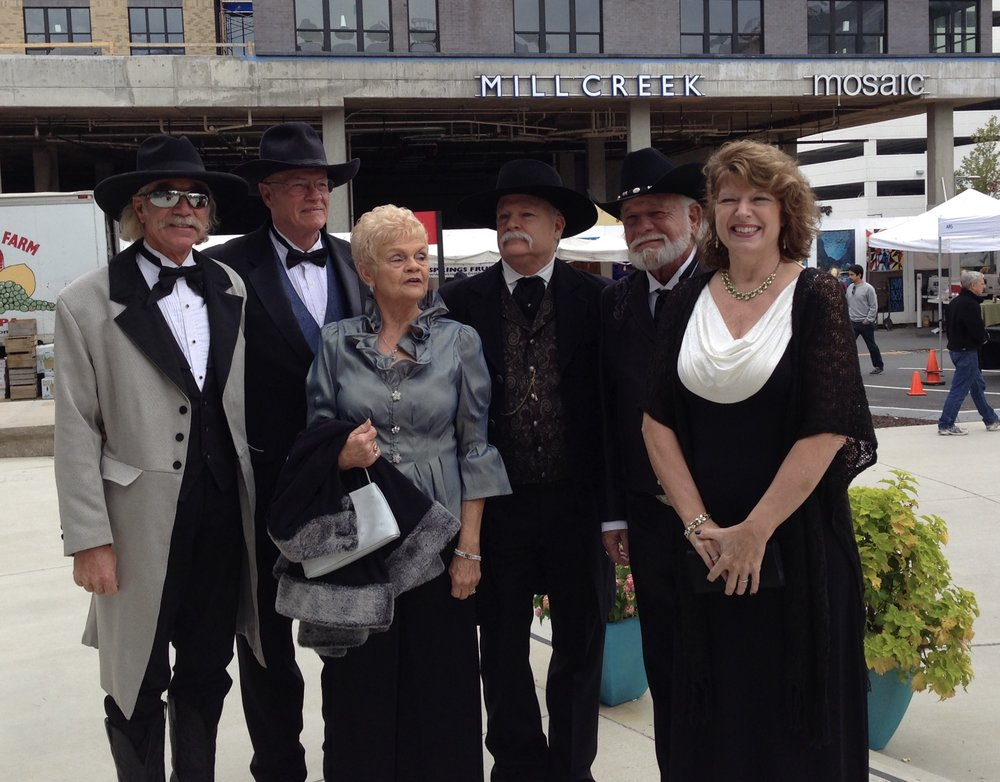This photo was taken outside one of the movie premieres for One Eyed Horse Productions. Follow them on Facebook.  Click here!