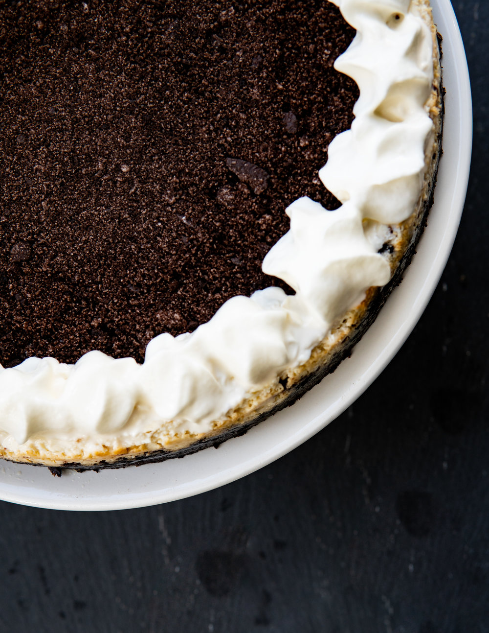 Oreo Goat Cheese Cheesecake = DROOLING