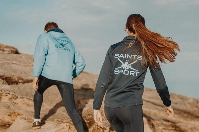 Saints Sport - playerlayer activewear shoot