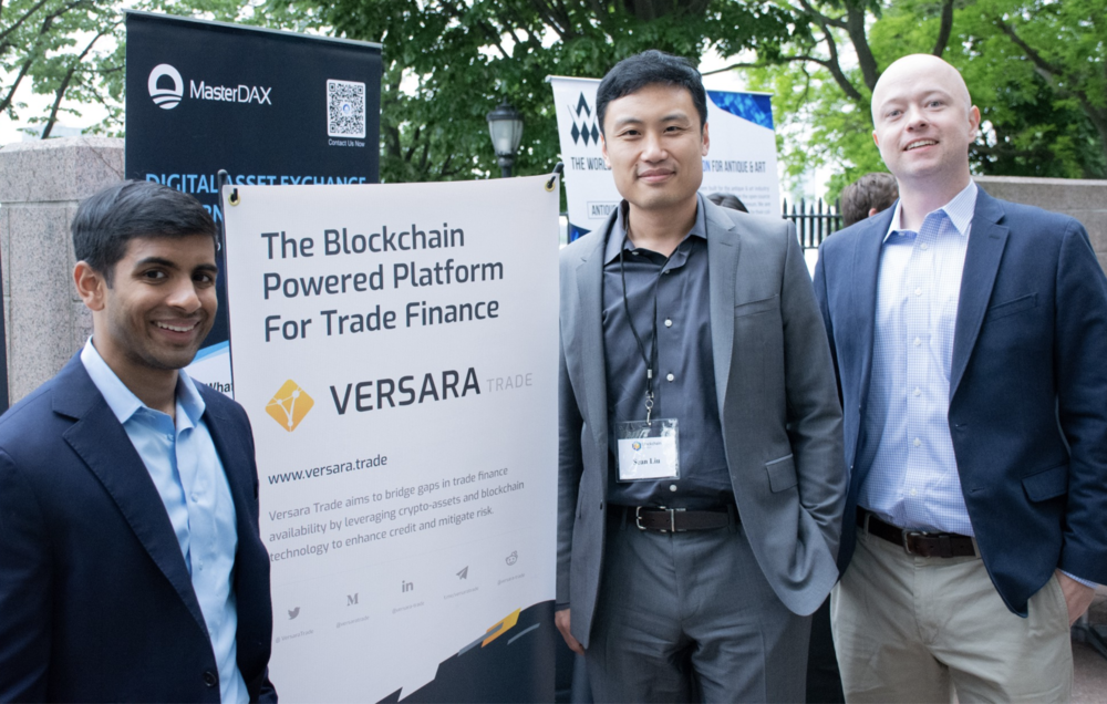 Versara Trade Founders at 2018 NYC Blockchain Center Tech & Invest Sumit