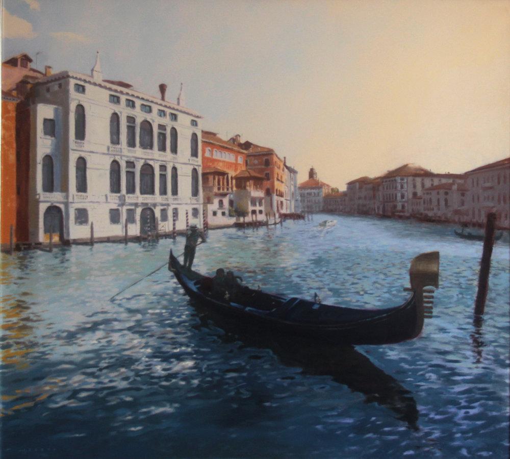 """Venice, Italy  40""""x44""""  Oil on canvas"""
