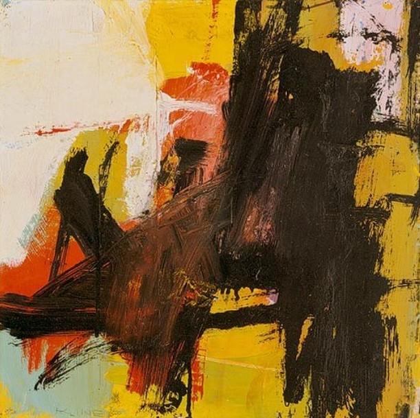 Franz In color ⚡️🐱🍄 Black Reflections 1959 #franzkline  Repost @kassidibatt