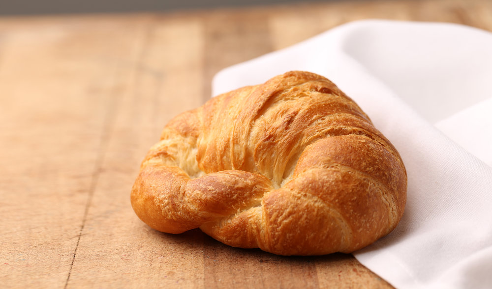 CROISSANTS                 - Available in butter, chocolate, & almondButtery, flaky crescent-shaped pastry.Contains: Wheat, Milk