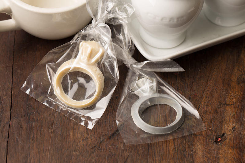 Chocolate Wedding Rings - Individually bagged