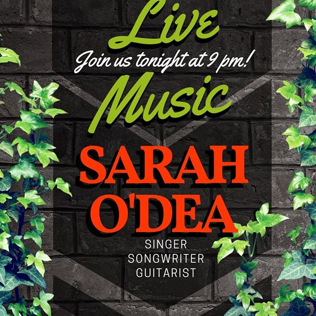 Wednesday, Dec 19th (tonight!) is the night for live music at RBG! Enjoy the talented @sarahodeamusic starting at 9:00 pm! Or come by early, grab some dinner, and enjoy Wine-down Wednesday! Sounds like a win-win to us!