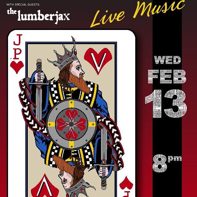 The snow is finally melting! Come celebrate at RBG for dinner and stay to watch JP Valentine on stage with special guests: The Lumberjax! Music starts at 8pm. See you tonight! #redmondsbarandgrill