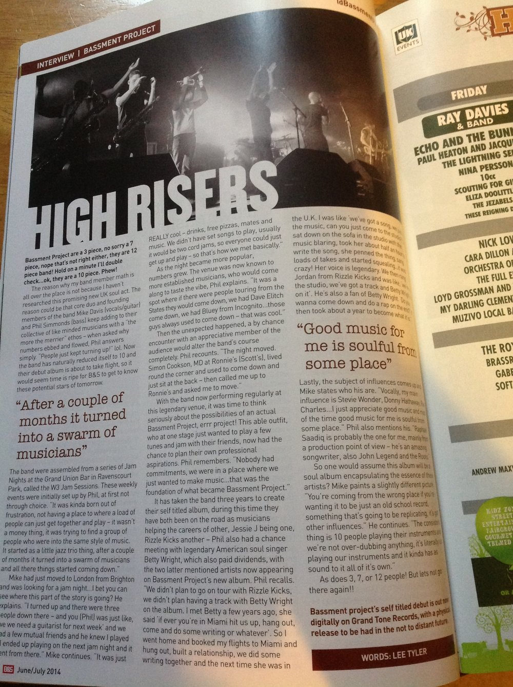 BLUES AND SOUL ARTICLE JUNE JULY 2014.JPG