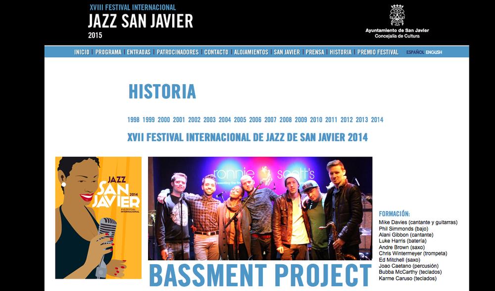 Bassment Project Live at SAN JAVIER JAZZ FESTIVAL JULY 2014.png
