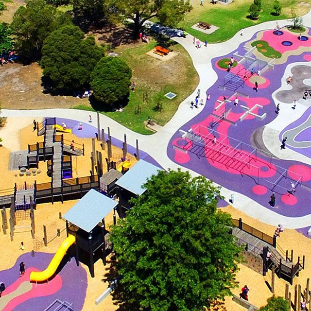 The Ballam Bumps Regional Playspace project by @hassell_studio is a generous design that pushes the expectations about who a playground is for and how it can be used. This playground celebrates the need for play in an unstructured way, and caters for all age groups from toddlers to adults. . . 2018 NATIONAL LANDSCAPE ARCHITECTURE AWARD - PLAY SPACES  2018 VIC LANDSCAPE ARCHITECTURE AWARD - PLAY SPACES . . #landscapearchprojects #landscapearchitects #landscapearchiture #landscapearch #BallumBumps #BallumPark #Hassell #playspaces #community #playground #fun #exercise #play #designedbyalandscapearchitect #aila. . . @aila_national @aila.victoria