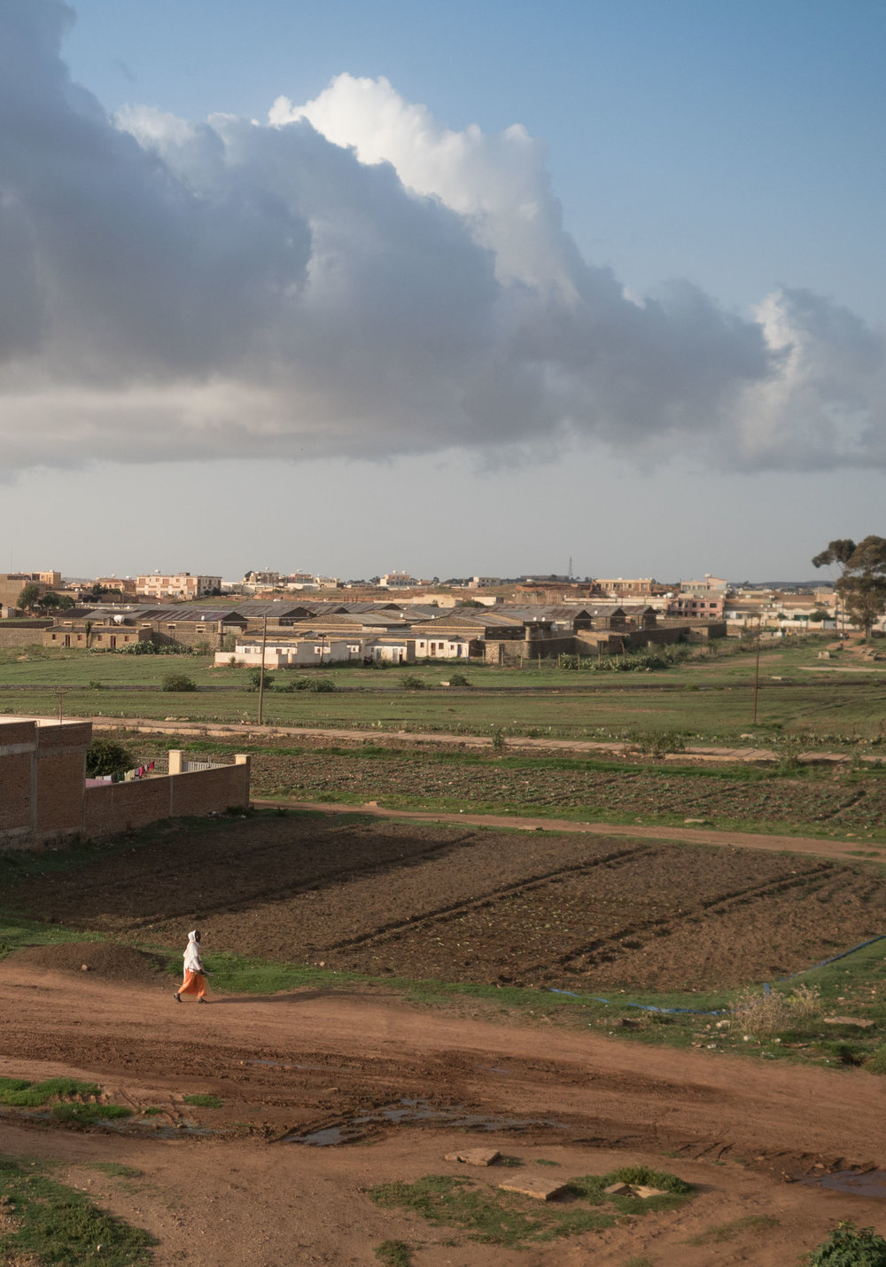 Sembel neighbourhood in Asmara, Eritrea.