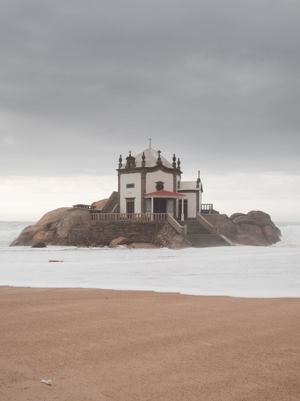 Chapel of Senhor da Pedra in Portugal.