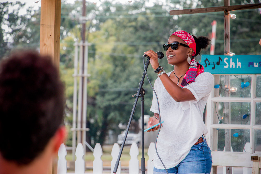 100K Poets for Change at From the Ground Up Community Garden