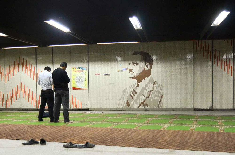 Abdel Nasser Subway Station, Cairo.Dec, 2012