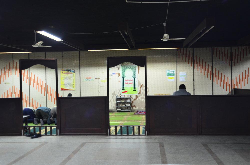 Abdel Nasser Subway Station, Cairo.Dec 2013