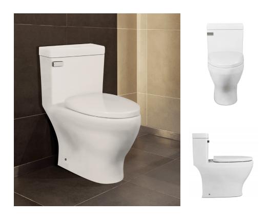 Icera 1 Piece Toilets.  Sold in our Showroom,  Lutz Bath & Kitchen