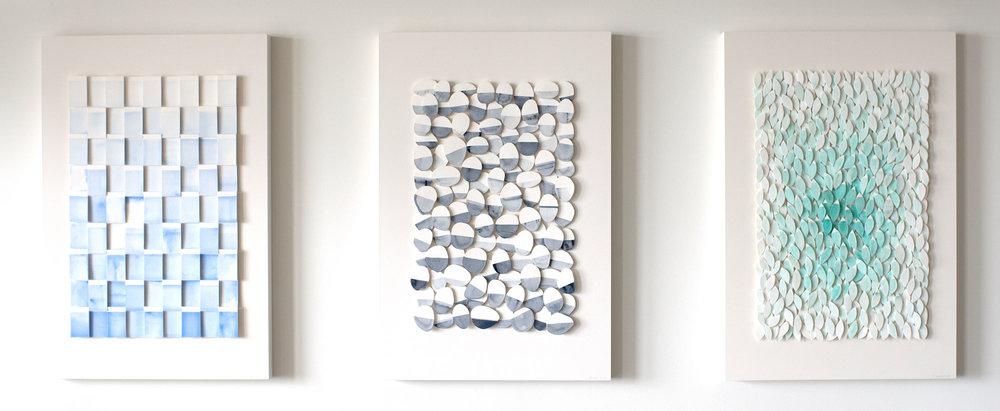 Stefan Daiberl Paper Sculptures