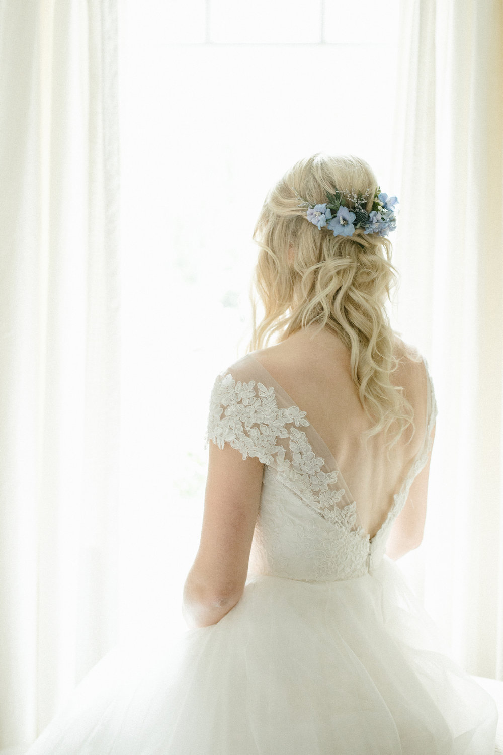 Flowers for the Brides Hair