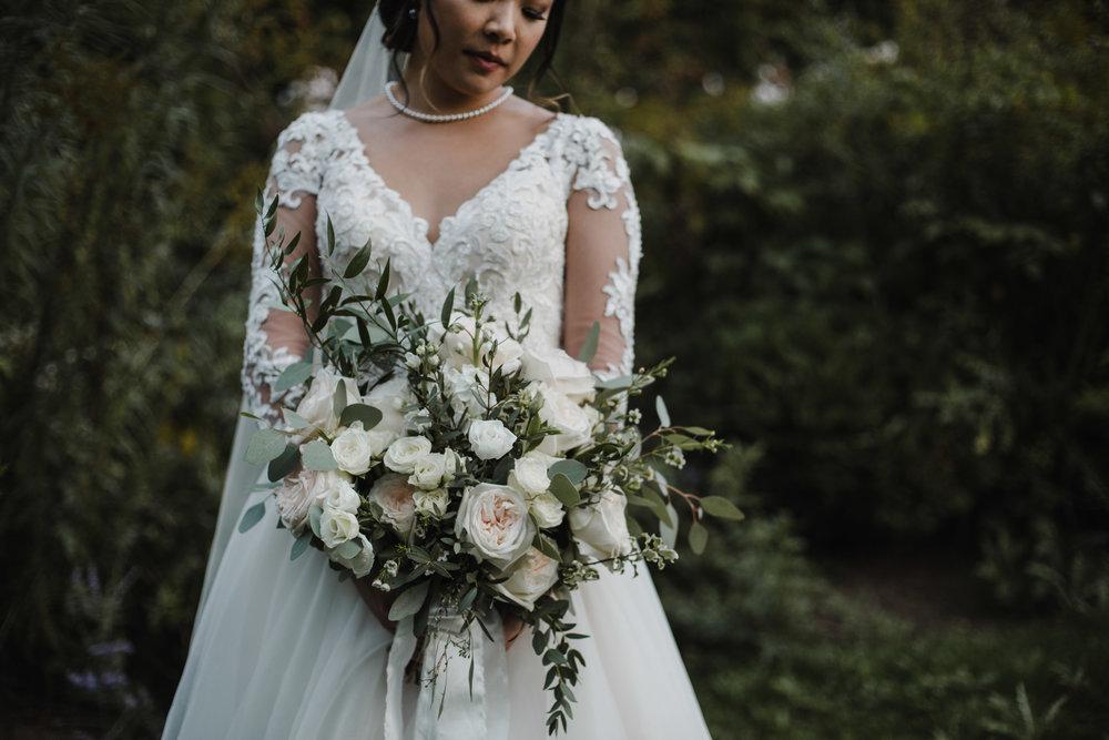 Bride's Garden Rose Bouquet