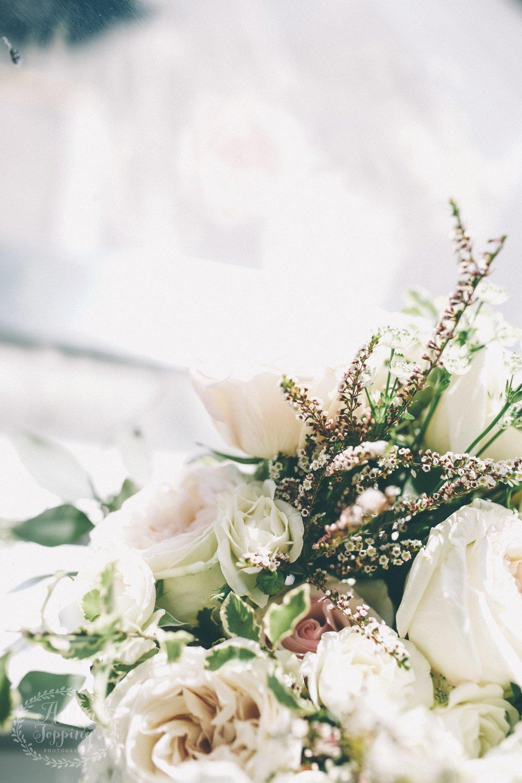 Bridal Bouquet Detail Photo