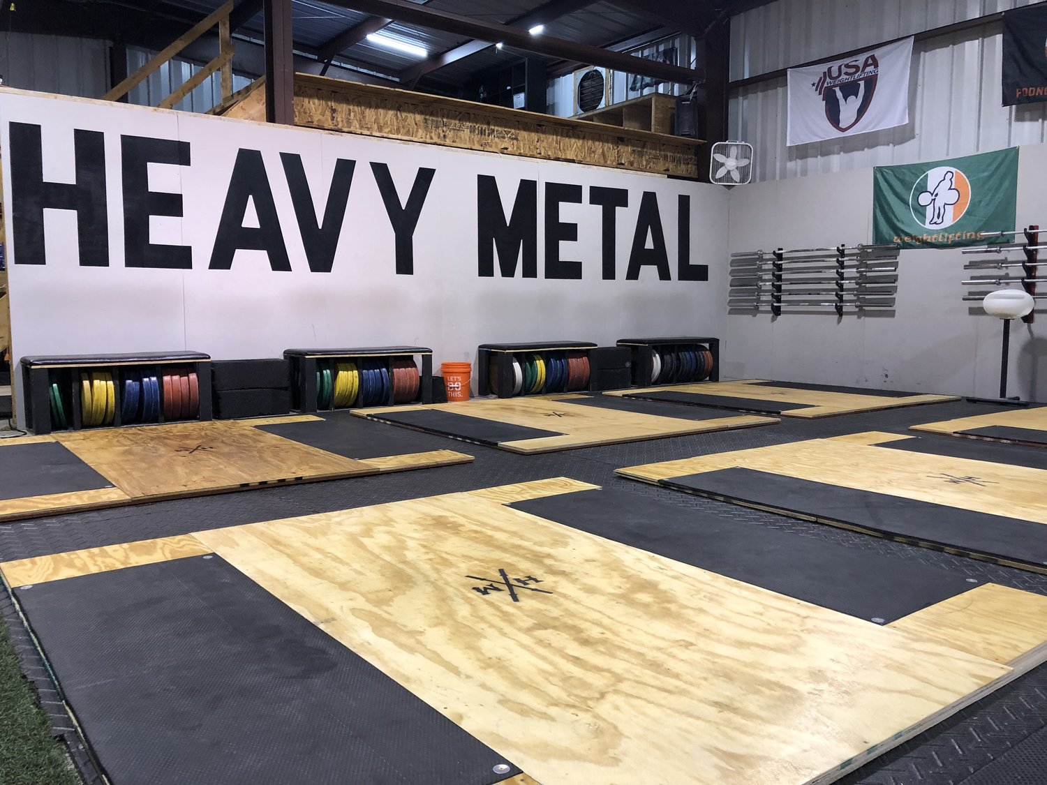 Diy Weightlifting Platform Hmbc