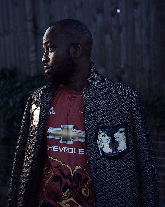 Jacket / Custom Manchester United Jersey -  @Exhibit69