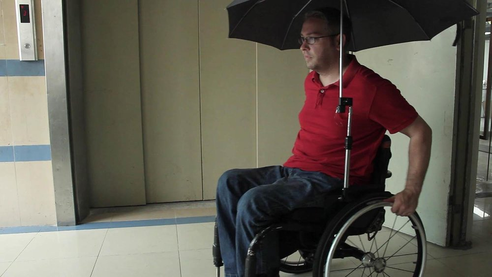 Wheelchair Umbrella Mount