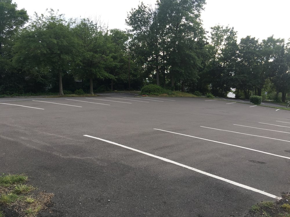 Parking lot 2/3 for Mount Vernon Baptist Church.