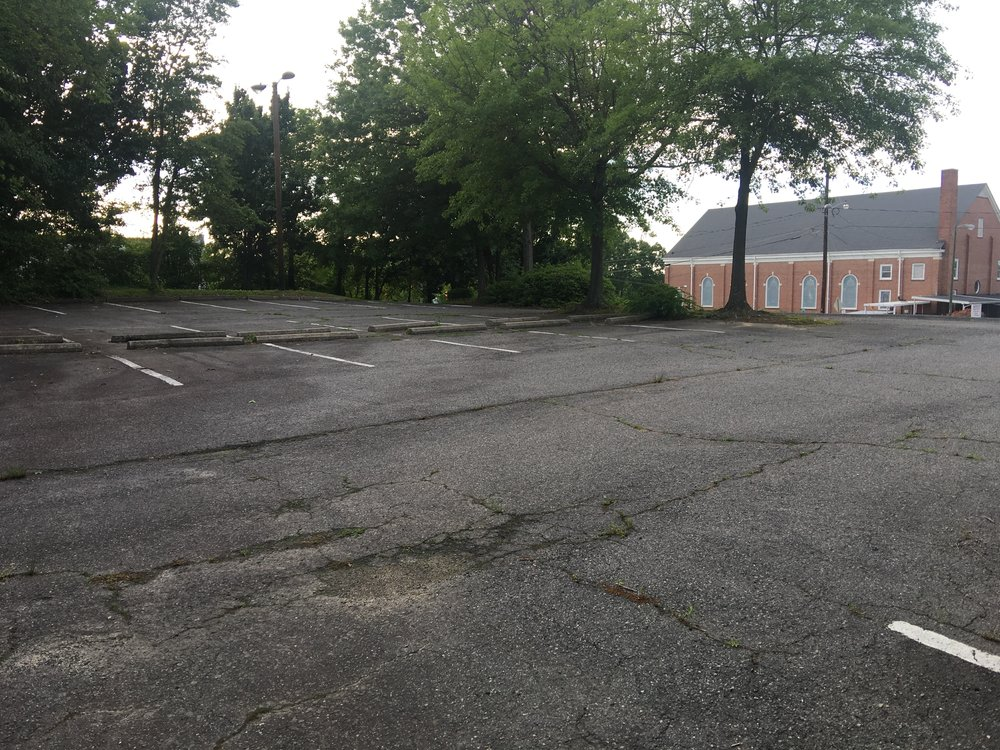 Parking lot 3/3 for Mount Vernon Baptist Church.