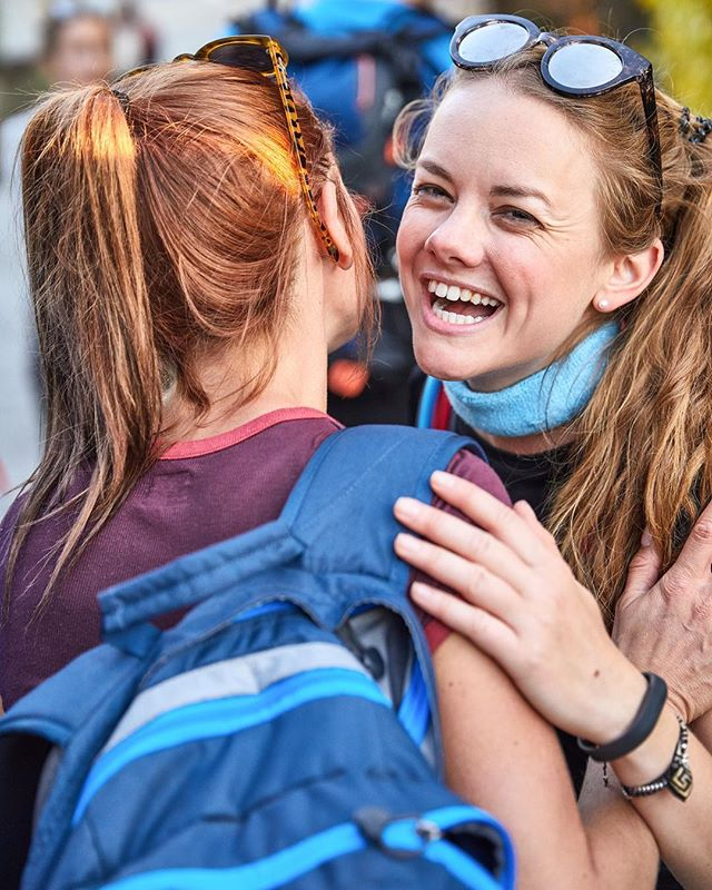 We do what we do for those smiles when new friends finish a challenge 🙌🏼😄🏃🏽♀️#justchallenge #smiles #friends #friendship #health #wellness #fitness #happy #happiness #freedom #trek #outdoors #girls