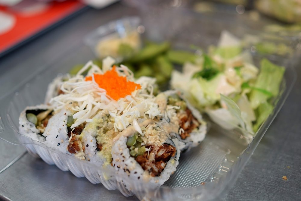 Soft Shelled Crab Roll