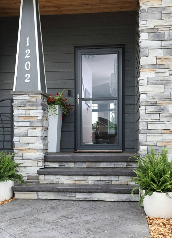 Larson Storm Door SVPlus graphite in Peekskill, NY