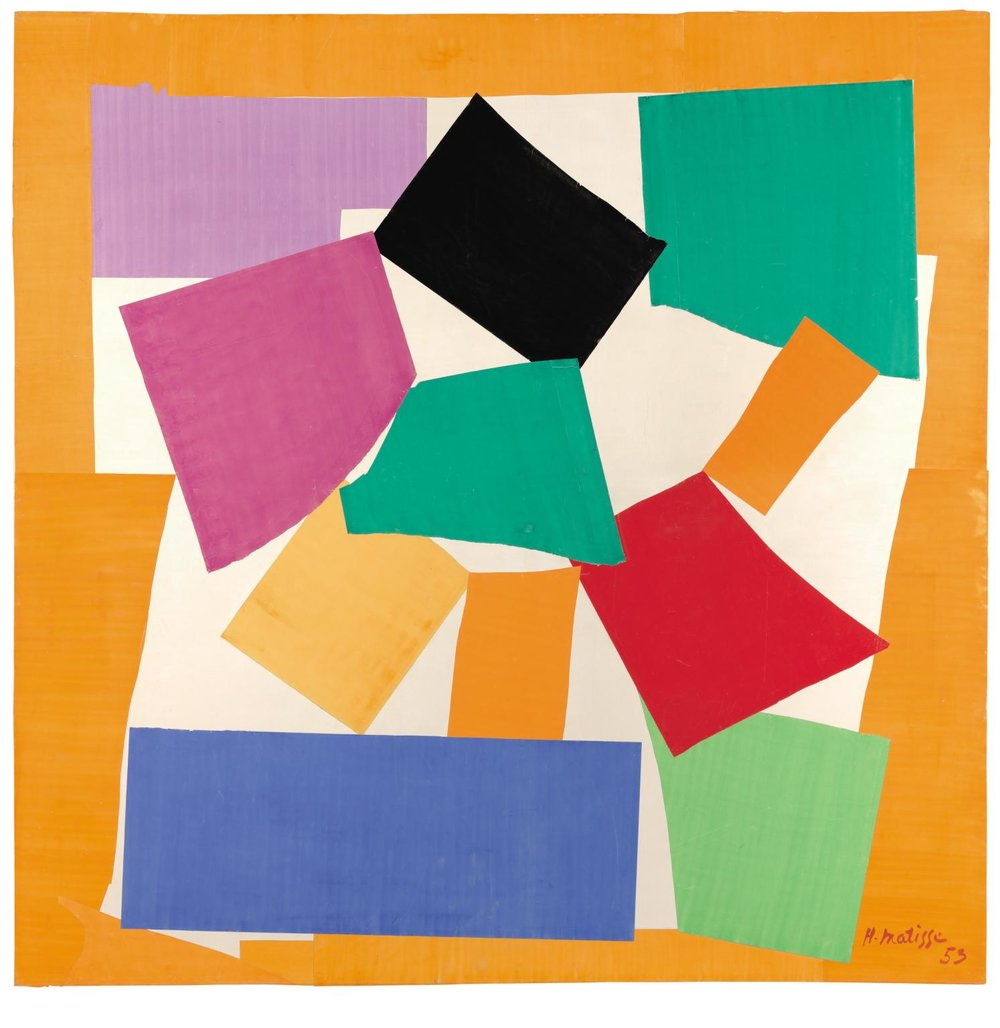 Henri Matisse, The Snail  Tate, 1953