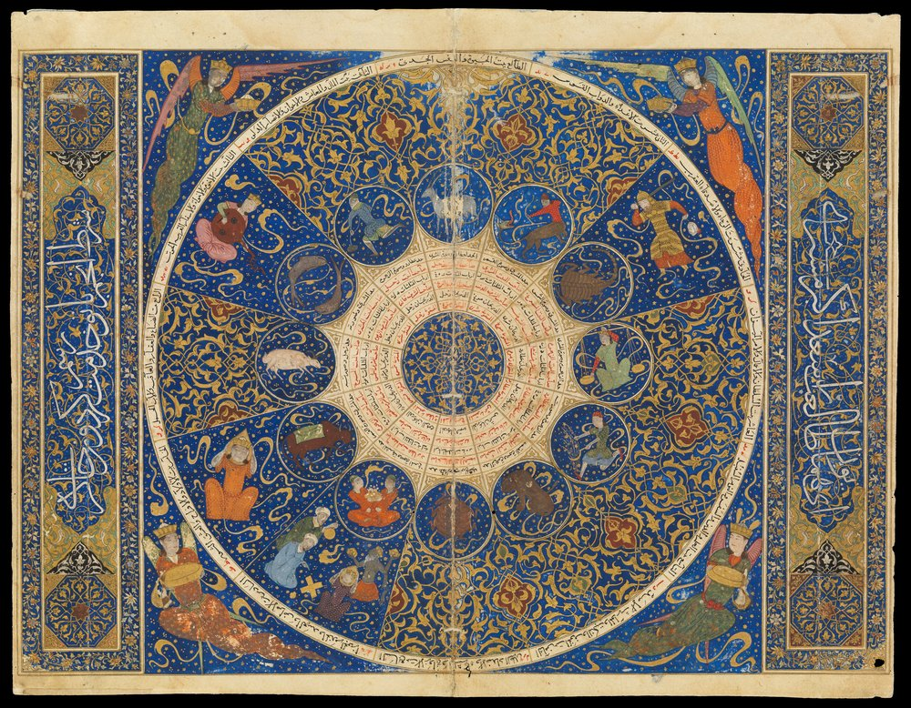 Horoscope of Sultan Iskandar , 1411 The Wellcome Collection