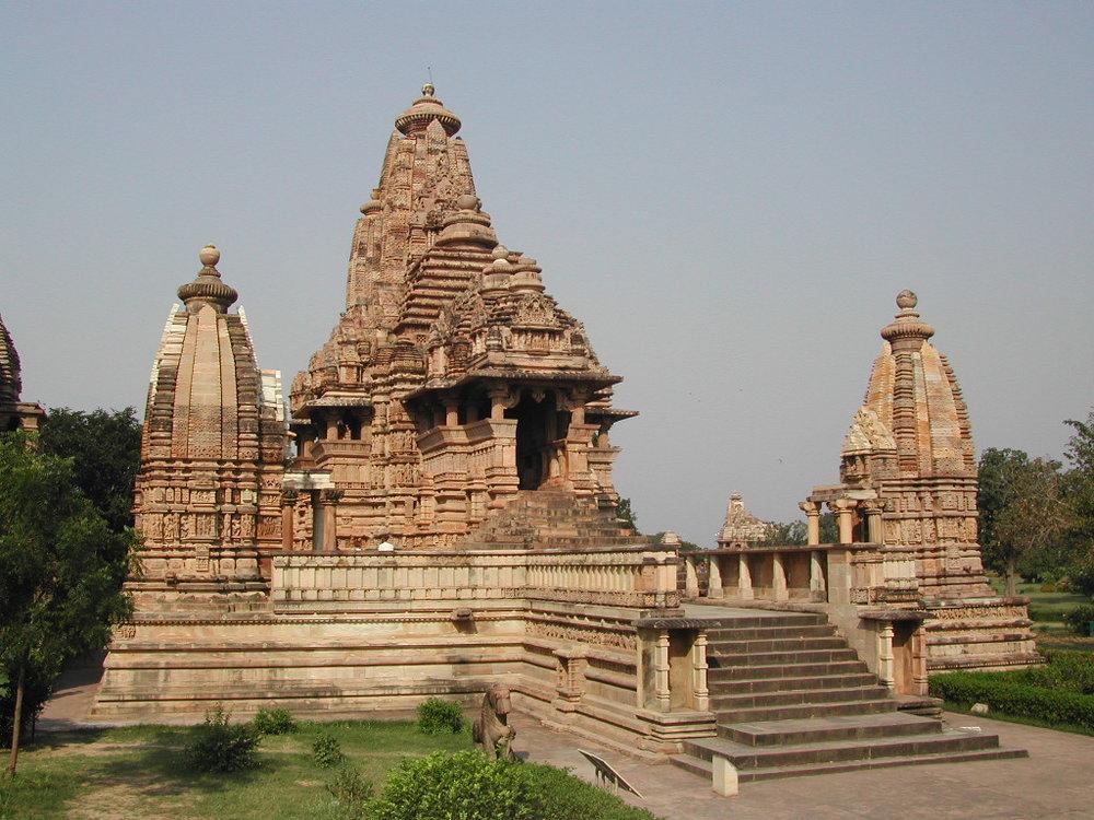 Lakshmana Temple, Khajuraho Group of Monuments Madhya Pradesh, India  Credit:  Wikimedia