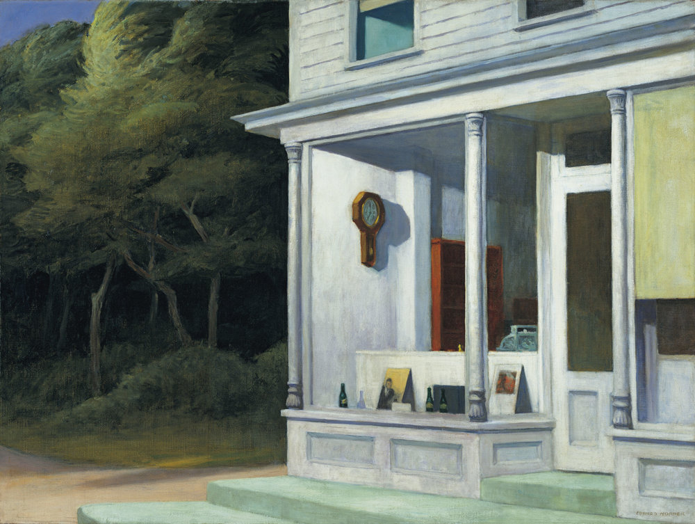 Seven A.M. , Edward Hopper Private Collection, 1948